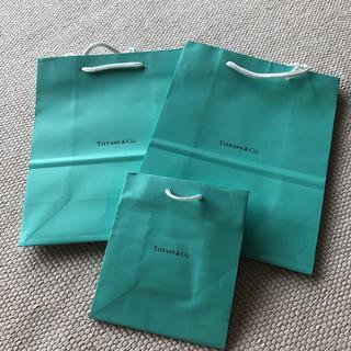 ティファニー(Tiffany & Co.)のティファニー ショッピングバッグ 3点(ショップ袋)