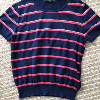 アナイ(ANAYI)のアナイ ANAYI サマーニット シャツ カットソー(Tシャツ(半袖/袖なし))