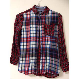 トミーヒルフィガー(TOMMY HILFIGER)のチェックシャツ…128cm(その他)