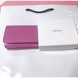 ローズバッド(ROSE BUD)の【YAHKI】三つ折り財布(財布)