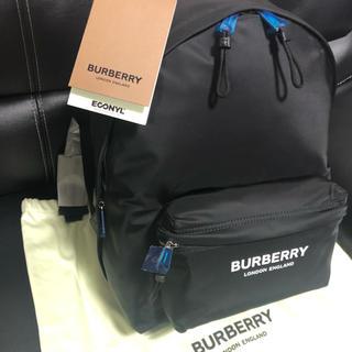 バーバリー(BURBERRY)のタグ付★新品未使用★バーバリーBURBERRYバックパック★BLACKリュック黒(バッグパック/リュック)