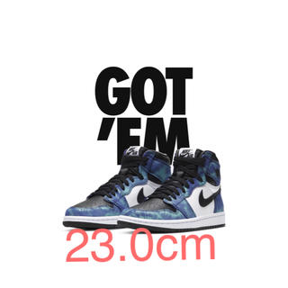 ナイキ(NIKE)のNIKE AIR JORDAN1 HIGH OG Tie-Dye 23.0cm(スニーカー)