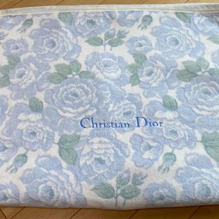 クリスチャンディオール(Christian Dior)のクリスチャンディオール 綿毛布 シングル用(毛布)