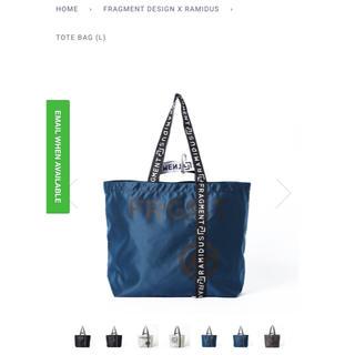 フラグメント(FRAGMENT)のRAMIDUS TOKYO tote bag L fragment design(トートバッグ)