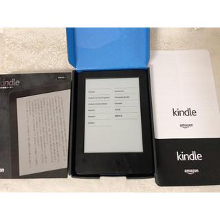 アップル(Apple)のKindle (第7世代)Wi-Fi 4GBブラック広告付き(電子ブックリーダー)