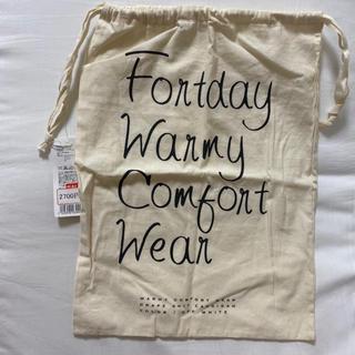 フランフラン(Francfranc)のFrancfranc♡シンプル英字柄巾着袋(その他)