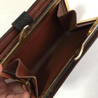 ルイヴィトン(LOUIS VUITTON)のルイヴィトン 財布 がま口財布 二つ折り財布(財布)