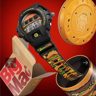ジーショック(G-SHOCK)の希少 1000本限定 マクドナルド×G-SHOCK コラボレーションモデル(腕時計(デジタル))