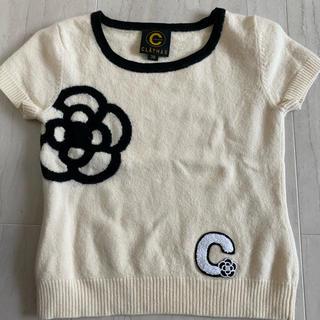 クレイサス(CLATHAS)のクレイサス ニット生地Tシャツ(Tシャツ(半袖/袖なし))