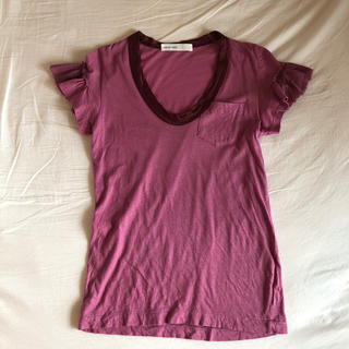 サカイラック(sacai luck)のsacai 異素材Tシャツ(Tシャツ(半袖/袖なし))