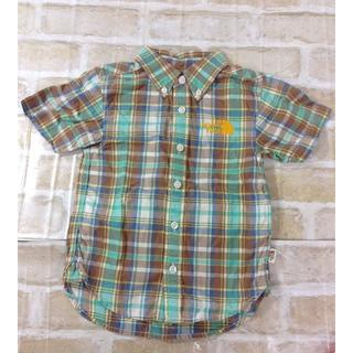 ザノースフェイス(THE NORTH FACE)のザノースフェイス 男の子用 半袖シャツ 100cm ★02YE0611011(ブラウス)