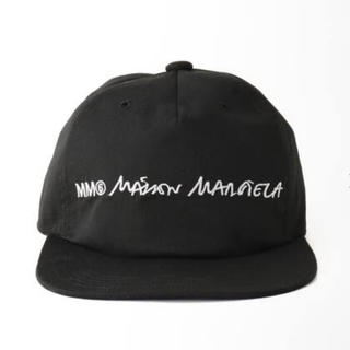 エムエムシックス(MM6)のMM6 Maison Martin Margiela  キャップ ブラック(キャップ)
