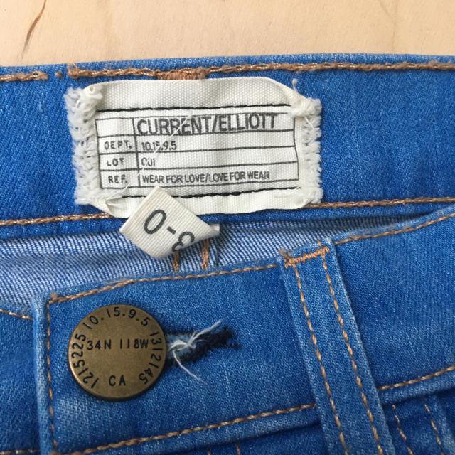 Current Elliott(カレントエリオット)の【current/eriott】デニムペンシルスカート 23 レディースのスカート(ミニスカート)の商品写真