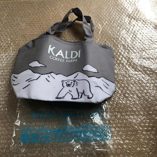 カルディ(KALDI)のKALDI✖️レタスクラブ ひんやり保冷バック(弁当用品)