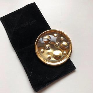 クリスチャンディオール(Christian Dior)のChristian Dior ハンドミラー(ロゴ入りケース付き)(ミラー)