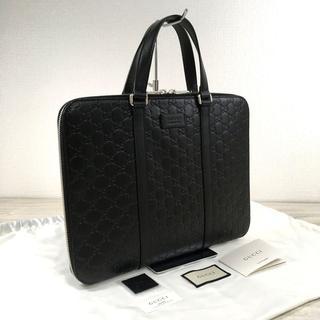 グッチ(Gucci)の未使用品 GUCCI ビジネスバッグ ブラック グッチシマ 147(ビジネスバッグ)
