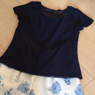 ミッシュマッシュ(MISCH MASCH)のシンプルブラウス(Tシャツ/カットソー(半袖/袖なし))