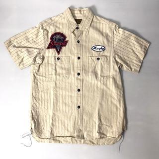 バズリクソンズ(Buzz Rickson's)の【H】BR35701 バズリクソンズ ワッペン コントラクターシャツ 14(シャツ)