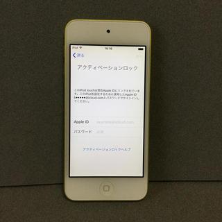 アイポッドタッチ(iPod touch)のiPod touch 第5世代(A1421)ジャンク品(不良品)(ポータブルプレーヤー)