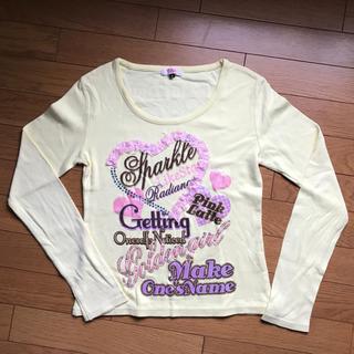 ピンクラテ(PINK-latte)のピンクラテ  長袖 Tシャツ(Tシャツ(長袖/七分))