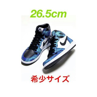ナイキ(NIKE)のNIKE WMNS AIR JORDAN 1 HIGH OG TIE-DYE(スニーカー)