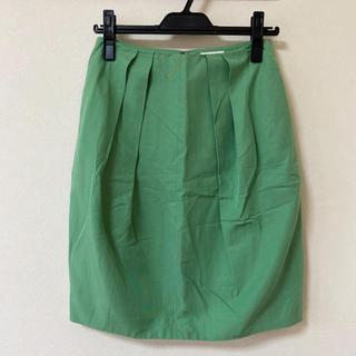 トゥモローランド(TOMORROWLAND)のBallsey 爽やかグリーンのスカート(ひざ丈スカート)