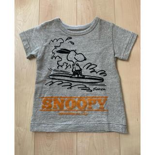 ブーフーウー(BOOFOOWOO)のBOO FOO WOO ブーフーウー スヌーピー コラボTシャツ 110(Tシャツ/カットソー)