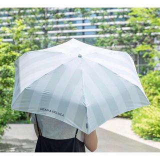 ディーンアンドデルーカ(DEAN & DELUCA)の新品 DEAN&DELUCA 折り畳み傘 晴雨兼用 軽量 日傘 雨傘 折りたたみ(傘)