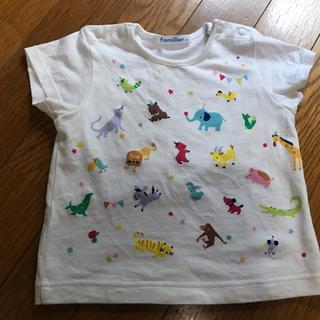 familiar - 【美品】ファミリア80cmTシャツ
