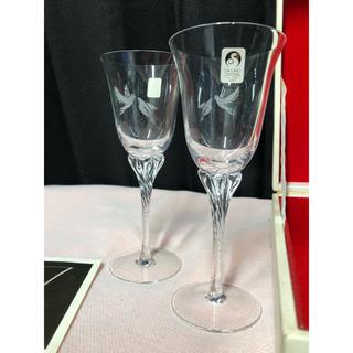 東洋佐々木ガラス - 未使用 箱付き ササキクリスタル SASAKI  ワイングラス ペア