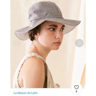 トゥモローランド(TOMORROWLAND)の最終お値下げ 新品未使用 La Maison de Lyllis   (麦わら帽子/ストローハット)