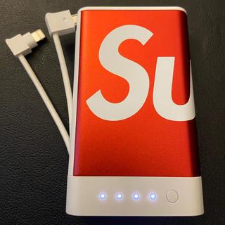 シュプリーム(Supreme)のsupreme モバイルバッテリー(バッテリー/充電器)