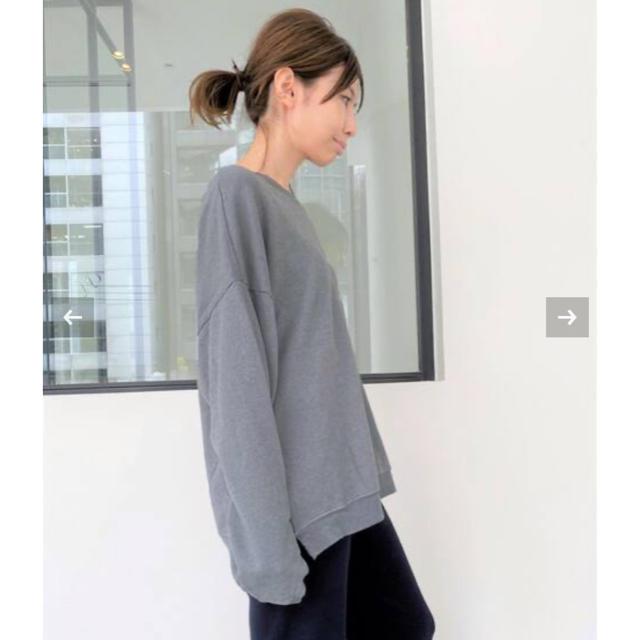L'Appartement DEUXIEME CLASSE(アパルトモンドゥーズィエムクラス)のアパルトモン LACAUSA/ラカウサ SWEAT ブルー タグ付き新品 レディースのトップス(トレーナー/スウェット)の商品写真
