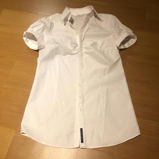 アオヤマ(青山)の夏用 ブラウス スーツ リクルート(シャツ/ブラウス(半袖/袖なし))
