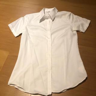 アオヤマ(青山)のリクルート シャツ 半袖 スキッパー 7号(シャツ/ブラウス(半袖/袖なし))
