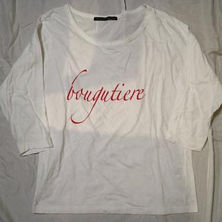 スピックアンドスパン(Spick and Span)の体型カバーにも◎ロゴT(Tシャツ(長袖/七分))