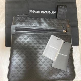 Emporio Armani - アルマーニ ショルダーバック ブラック MINORCA ALL OVER