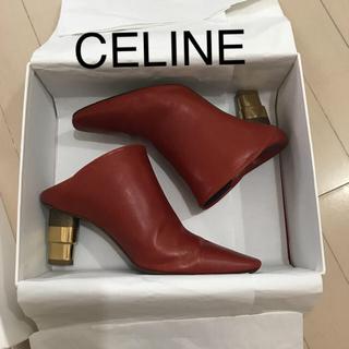 celine - CELINE☆セリーヌ☆キャンドルヒールブーツ