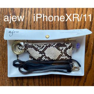 ユナイテッドアローズ(UNITED ARROWS)のajew  iPhoneXR/11(iPhoneケース)