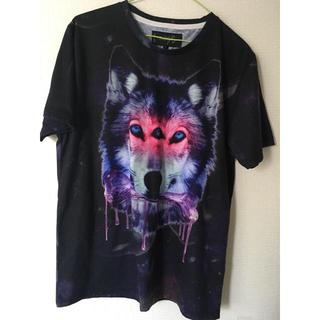 ミルクボーイ(MILKBOY)のmilkboy THREE EYED WOLF Tシャツ 三つ目オオカミ L(Tシャツ/カットソー(半袖/袖なし))