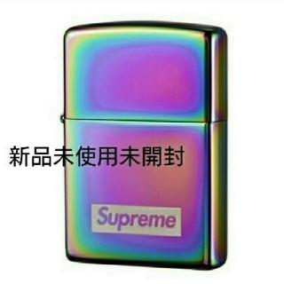 シュプリーム(Supreme)の国内正規品 新品未使用未開封 Spectrum iridescent Zippo(タバコグッズ)