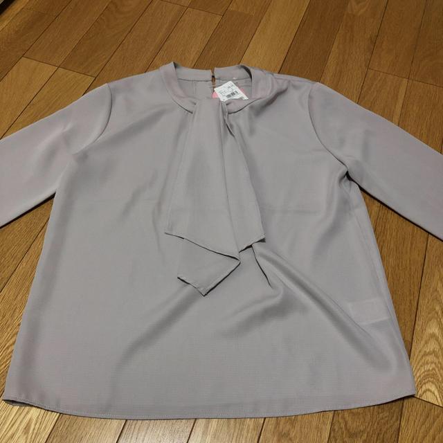 AOKI(アオキ)の新品タグ付き AOKI ブラウス Sサイズ レディースのトップス(シャツ/ブラウス(長袖/七分))の商品写真