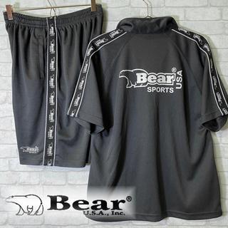 ベアー(Bear USA)のBear USA ベアー トラック サイドライン セットアップ 半袖 ショーツ(ジャージ)