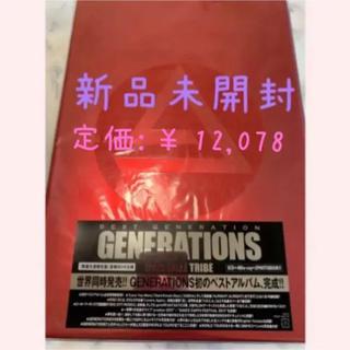 ジェネレーションズ(GENERATIONS)の【新品未使用】BEST GENERATION(ミュージック)