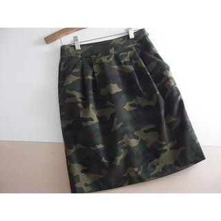 ジーナシス(JEANASIS)の⚫JEANASIS⚫ ジーナシス 迷彩スカート S ♪(ひざ丈スカート)