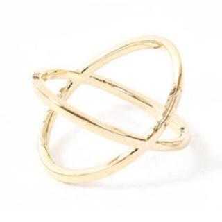 送料込☆シンプルクロスリング Ring (リング(指輪))