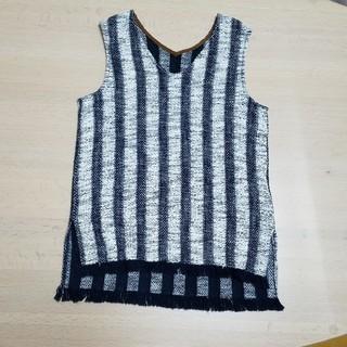 デミルクスビームス(Demi-Luxe BEAMS)の2回着用★サマーニット タンクトップ デミルクスビームス(Tシャツ(半袖/袖なし))