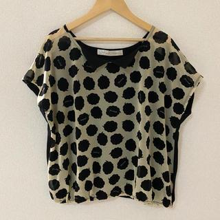 ドットアンドストライプスチャイルドウーマン(Dot&Stripes CHILDWOMAN)の吹き出しカットソー Tシャツ(カットソー(半袖/袖なし))