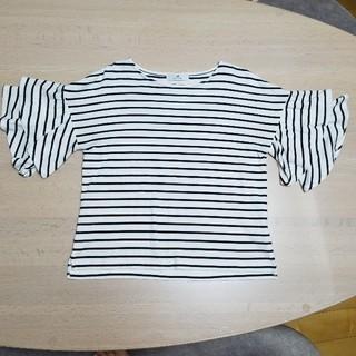 サニーレーベル(Sonny Label)のフリル袖 ボーダーT アーバンリサーチ サニーレーベル(Tシャツ(半袖/袖なし))
