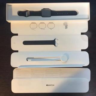 アップルウォッチ(Apple Watch)のAPPLE WATCH 3 スペースグレイ(スマートフォン本体)